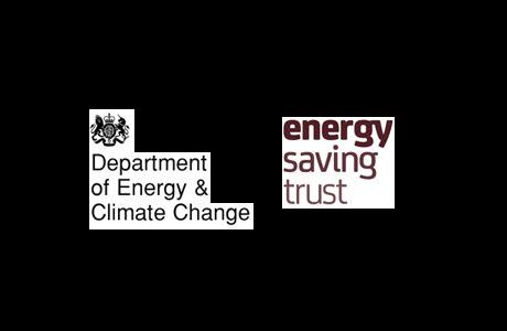 Department of Energy & Climate Change & Energy Saving Trust Logos