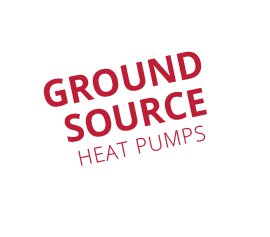 ground source heat pumps speech bubble